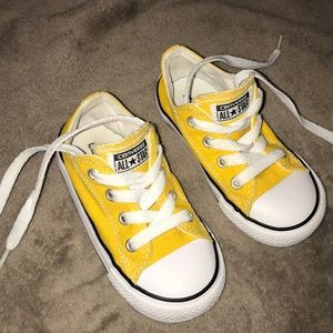Yellow Toddler Converse